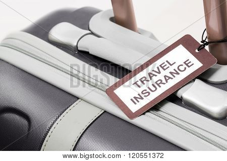 Travel Insurance Label.