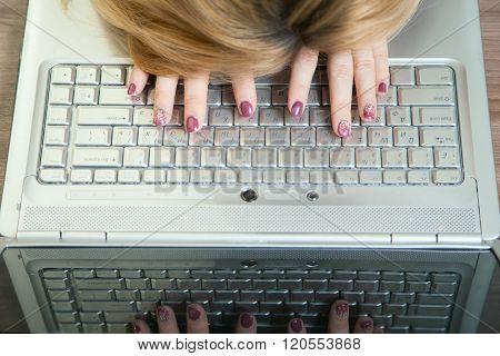 girl sleep on your keyboard