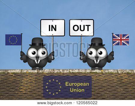 Rooftop European Union Referendum