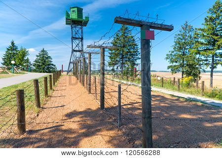 Zaslavl, Belarus - 20 August 2015: Military-Historical Complex Stalin Line