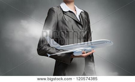 Aircraft or business travel concept