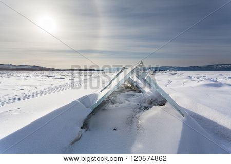 Triangle Ice Blocks
