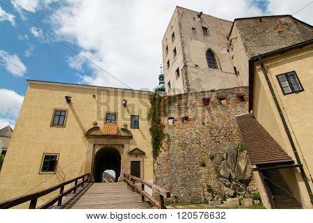 Famous Gothic Castle Buchlov