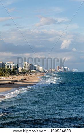 Fort Lauderdale Down Beach