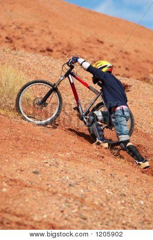 Extreme Bike Uphill