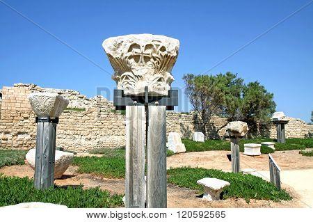 Capitals Of Ancient Corinthian Columns