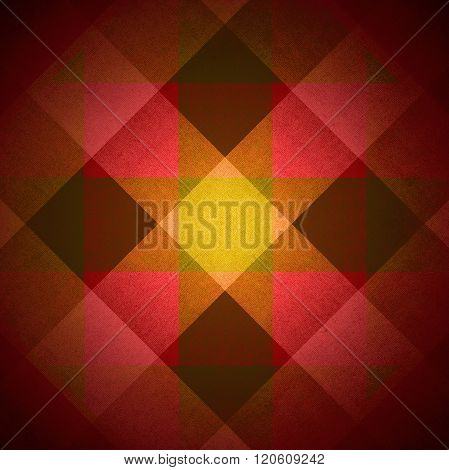 Diamonds And Squares Fabric Pattern