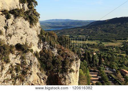 The Nature Reserve Verdon, Provence