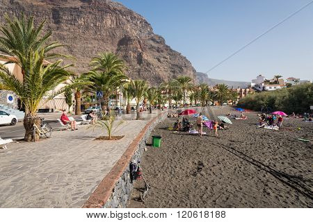 Baby beach on La Gomera