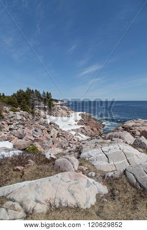 Boulders At Cabot Trail