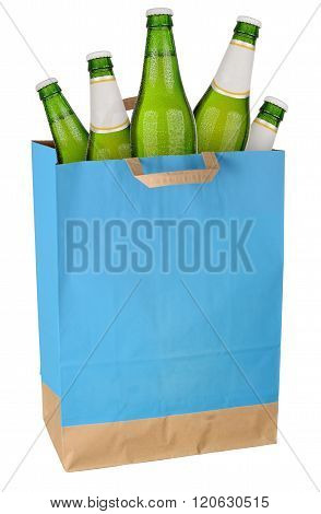 Bag With Green Beer
