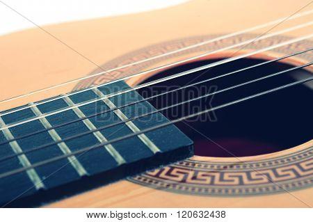 Strings Of An Acoustic Guitar