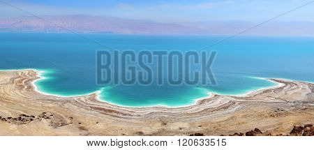 Landscape Of The Dead Sea, Israel