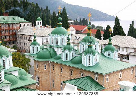 St. Panteleimon Monastery On Mount Athos