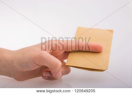 Hand Cutting Notebook