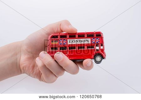 London Bus In Hand