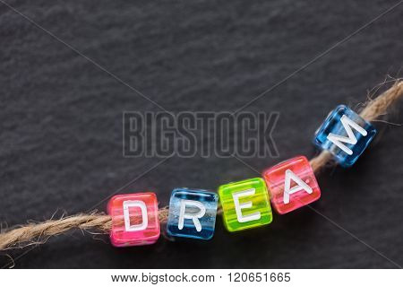 Dream Word Concept