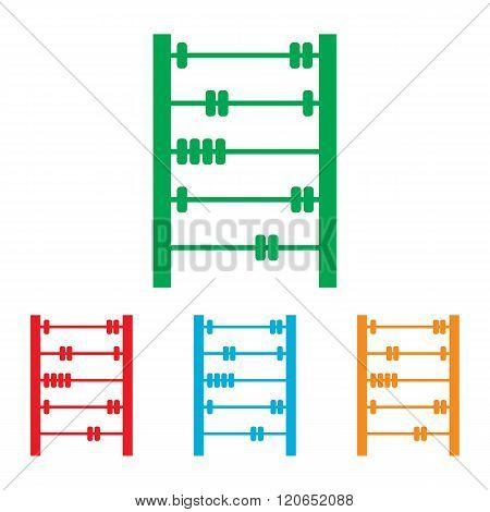 Retro abacus sign