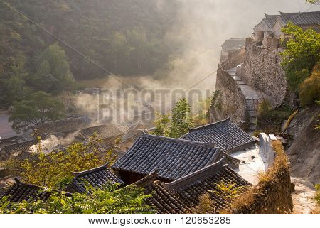 The Ancient Village In Beijing Of China