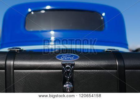 V8 Ford Truck Emblem