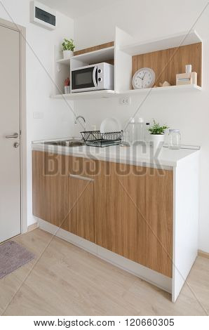 Modern Pantry In Apartment