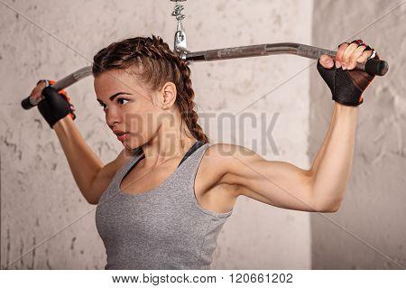 Fitness Girl. Sport.
