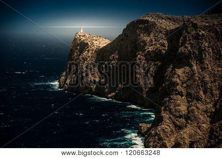 Famous Cap de Formentor, Mallorca island, Spain