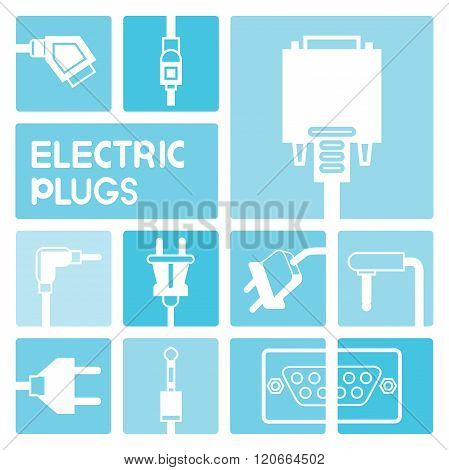 plug and outlet icons