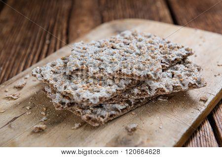 Crispbread (selective Focus)