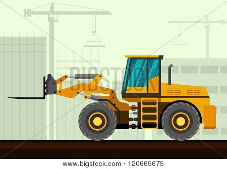 Loader With Fork