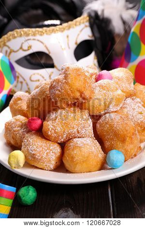 french donut,