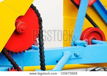 Machine Part Background