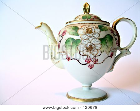 Handpainted Tea Pot