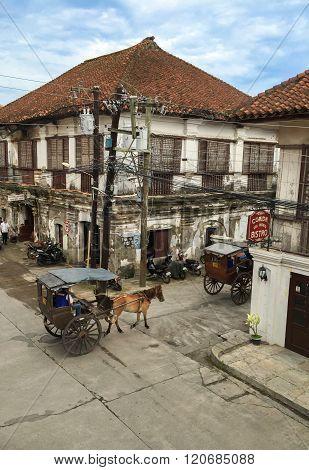Historic Town Of Vigan.
