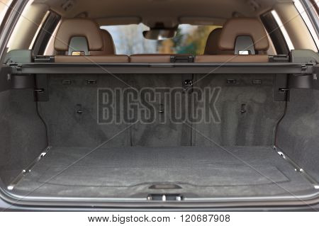 Empty Trunk Space