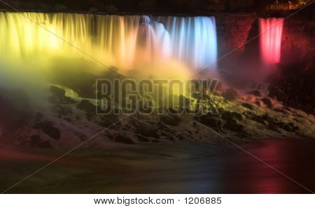 Niagara Falls Night Lights