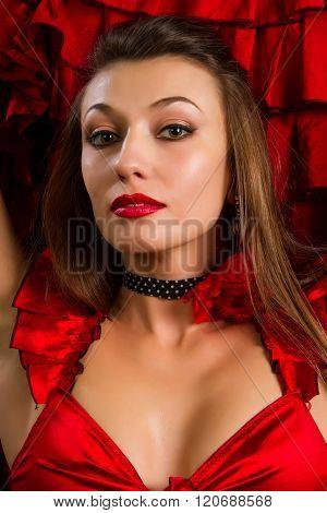 Lady In Gypsy Costume