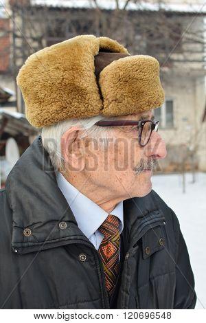 Melancholic Elderly Man