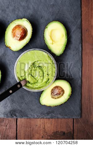 Avocado / Avocado Guacamole/  Halved Avocado