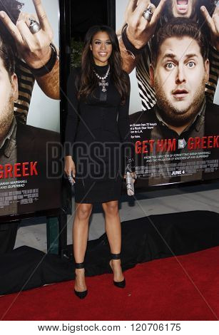 Kali Hawk at the World premiere of