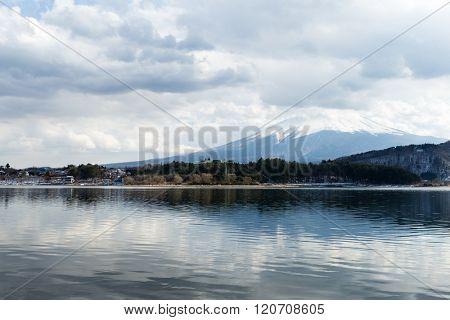 Lake Kawaguchi and Mountain Fuji
