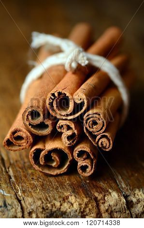 Bunch Of Cinnamon Sticks