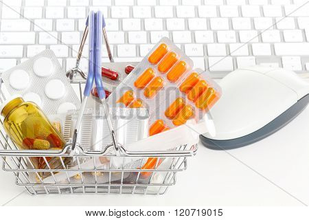 Online pharmacy on-line chemist's shop