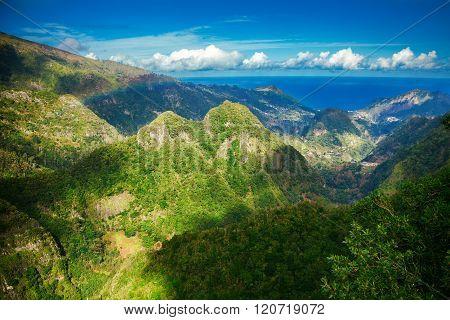 Hills From Levada Balcoes