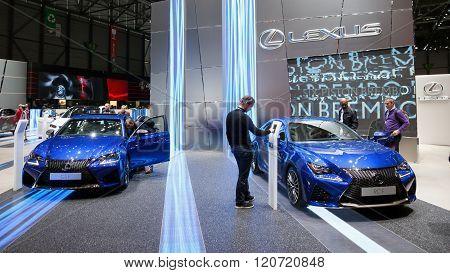 Lexus Gsf And Lexus Rcf