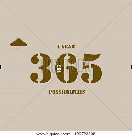 1 Year 365 Possibilities