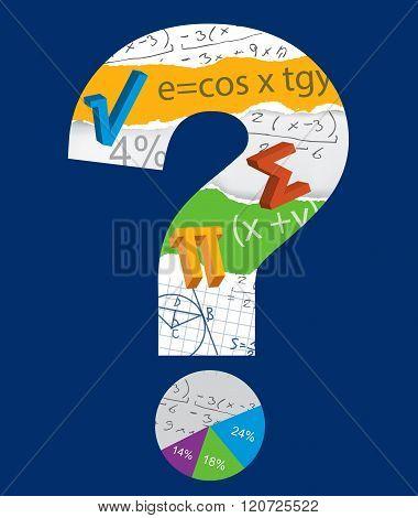 Math Question Mark