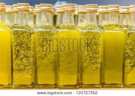 Little Bottles Of Olive Oil