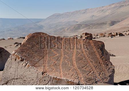 South America, Peru, Toro Muerto Petroglyphs