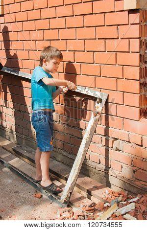 Little Helper, Boy At Work